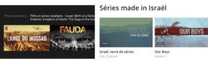 Dix films et séries israéliennes