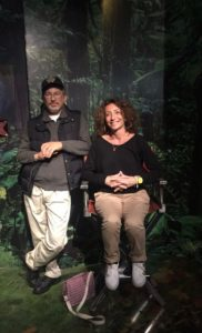 Me and M Spielberg at Tussaud'