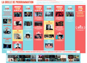 Programme Champs Elysées Films Festivals