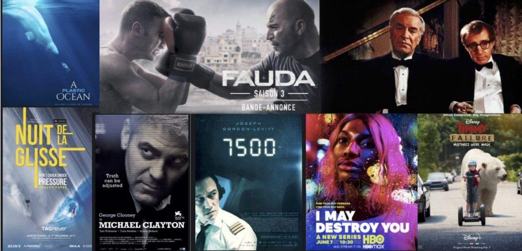 Films et séries de la semaine