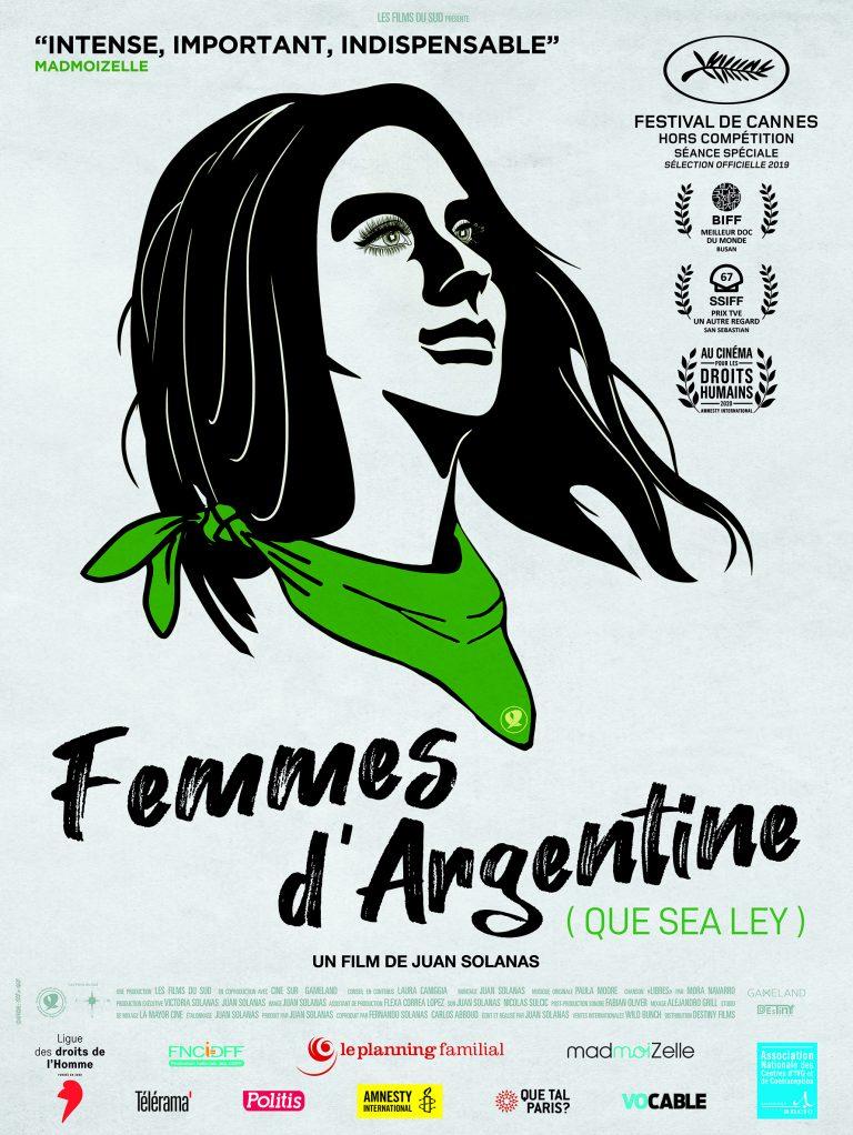 Femmes d'Argentine Que Sea Ley
