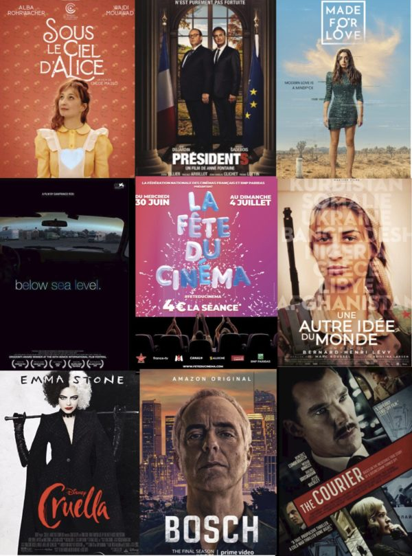 your films and series